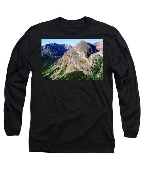Hiking The Mount Massive Summit Long Sleeve T-Shirt