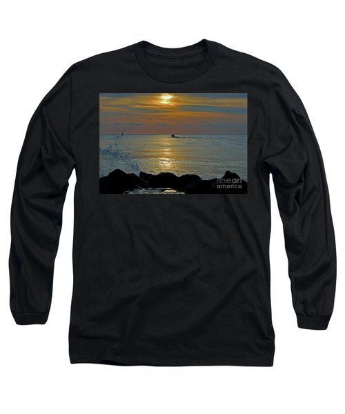 Long Sleeve T-Shirt featuring the photograph 4- Into The Day by Joseph Keane