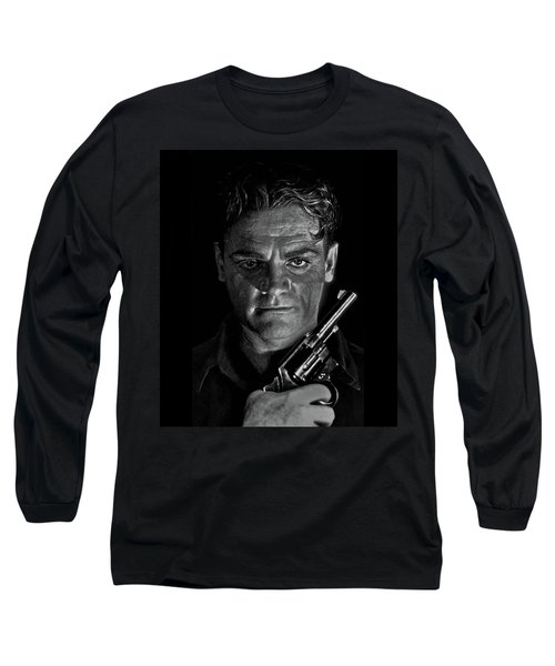 James Cagney - A Study Long Sleeve T-Shirt