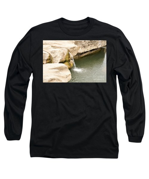 Long Sleeve T-Shirt featuring the photograph Texas - Mckinney Falls State Park  by Ray Shrewsberry