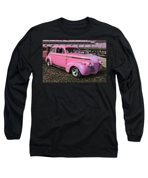 Long Sleeve T-Shirt featuring the photograph '40 Chevy by Victor Montgomery