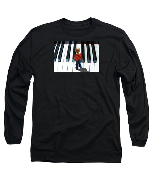 4021 Long Sleeve T-Shirt by Peter Holme III