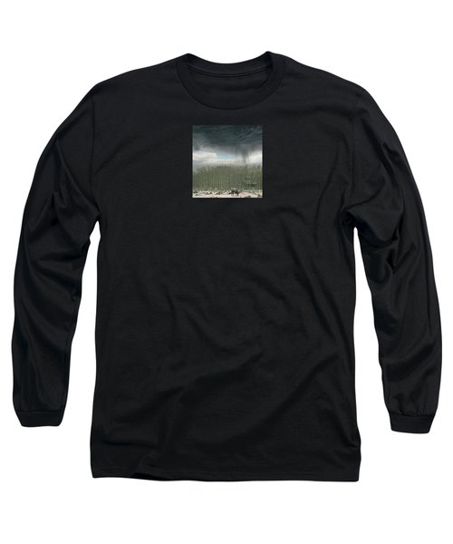Long Sleeve T-Shirt featuring the photograph 4375 by Peter Holme III