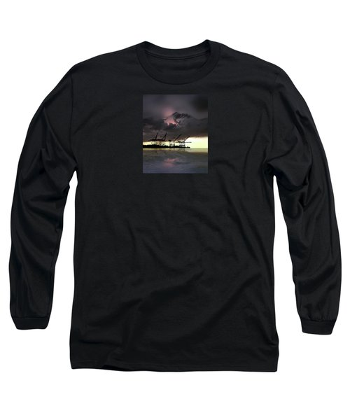Long Sleeve T-Shirt featuring the photograph 4396 by Peter Holme III