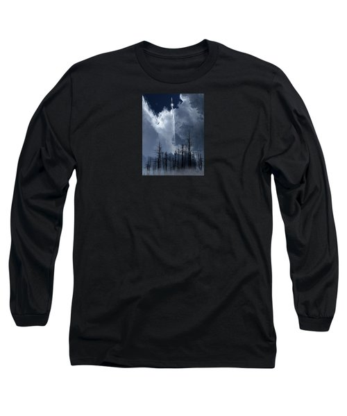 Long Sleeve T-Shirt featuring the photograph 4404 by Peter Holme III