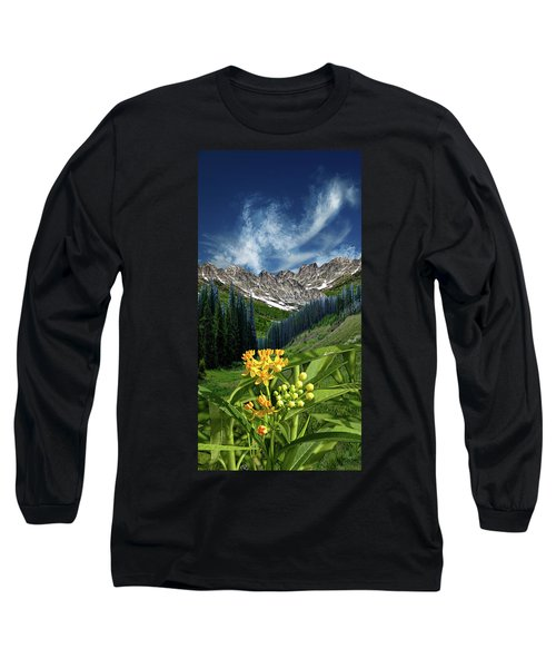 Long Sleeve T-Shirt featuring the photograph 4415 by Peter Holme III
