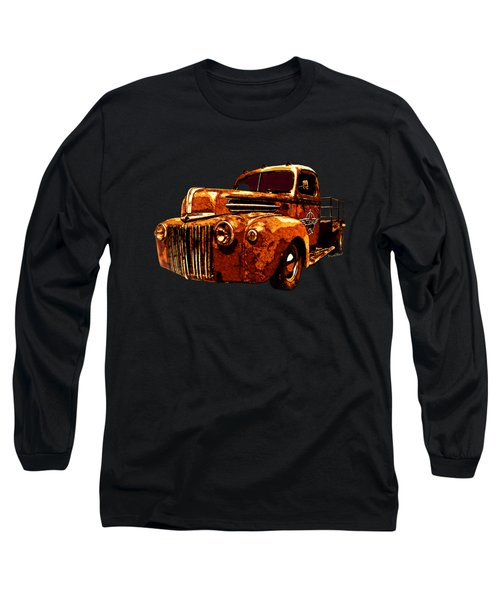 46 Ford Flatbed Redux From The Laboratories At Vivachas Long Sleeve T-Shirt
