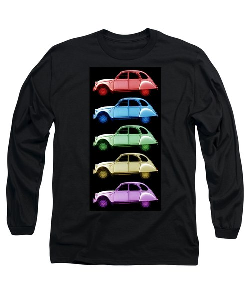 5 Citroens Long Sleeve T-Shirt by Andrew Fare