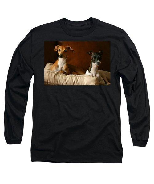 Italian Greyhounds Long Sleeve T-Shirt