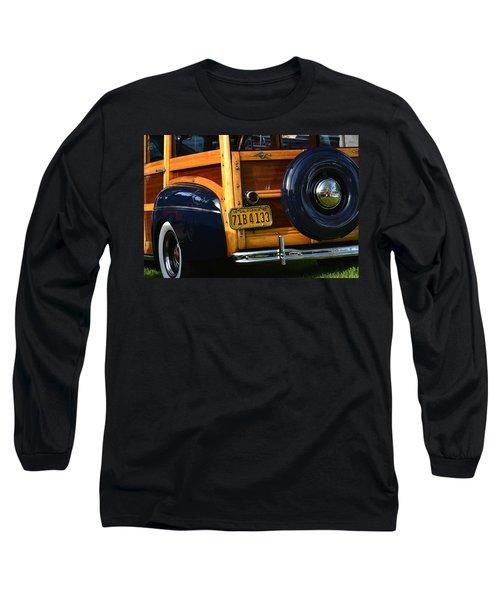 Woodie Long Sleeve T-Shirt by Dean Ferreira