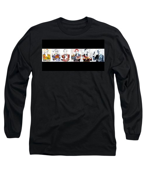 50 Years Of Bond Long Sleeve T-Shirt