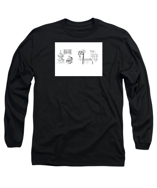 5.3.japan-1-details-roof-and-fence Long Sleeve T-Shirt