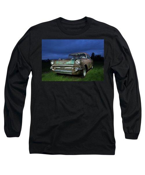 57' Chevrolet Long Sleeve T-Shirt