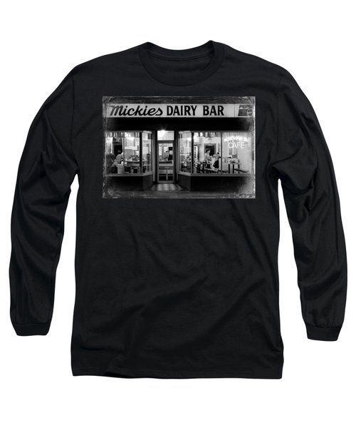 6 29 Am Distressed Long Sleeve T-Shirt