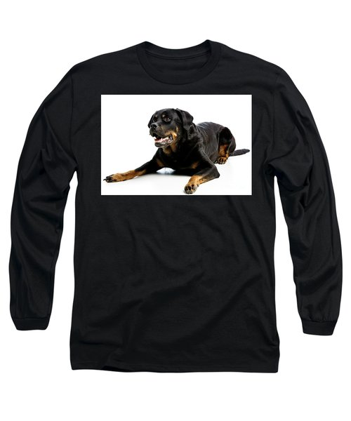 Rottweiler Dog Long Sleeve T-Shirt