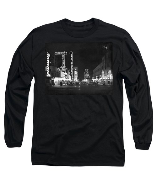 The Las Vegas Strip Long Sleeve T-Shirt