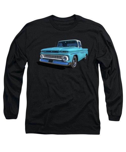 60s Pickup Long Sleeve T-Shirt by Keith Hawley
