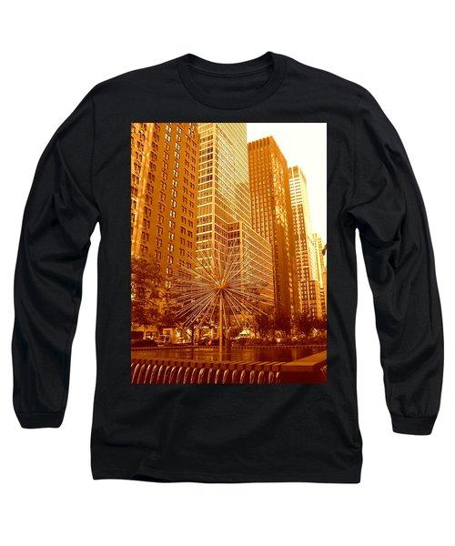 6th Avenue In Mahattan Long Sleeve T-Shirt