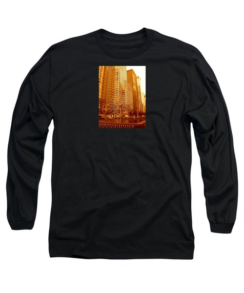 6th Avenue In Mahattan Long Sleeve T-Shirt