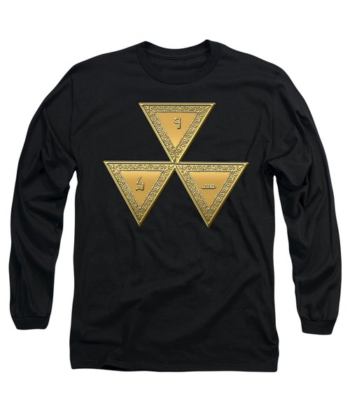 6th Degree Mason - Intimate Secretary Masonic Jewel  Long Sleeve T-Shirt