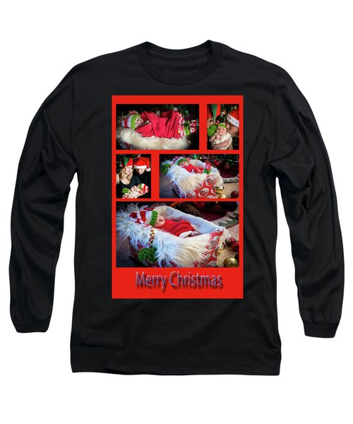 Merry Christmas Long Sleeve T-Shirt by Ivete Basso Photography