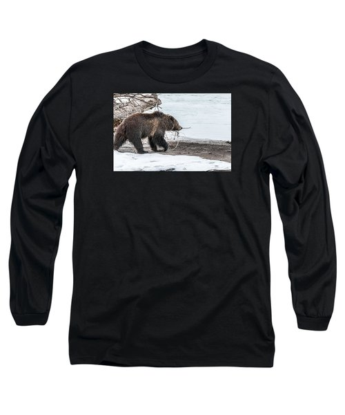 Long Sleeve T-Shirt featuring the photograph #760 At The River In Early Spring by Yeates Photography