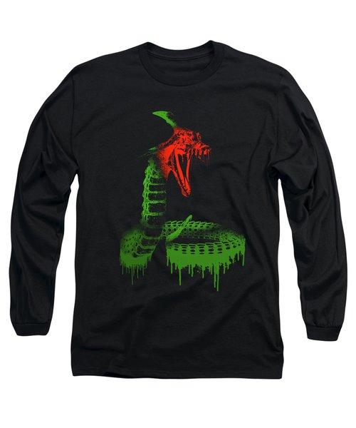 Paint Drips Long Sleeve T-Shirt