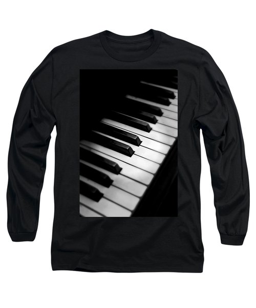 Long Sleeve T-Shirt featuring the photograph 88 Keys To The Heart by Aaron Berg