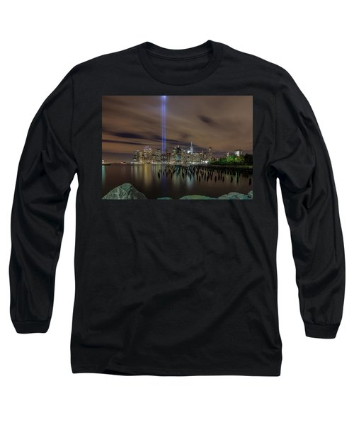 9/11 Tribute Lights 2016 Long Sleeve T-Shirt