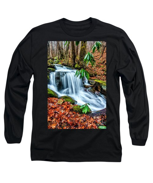Long Sleeve T-Shirt featuring the photograph Little Laurel Branch by Thomas R Fletcher