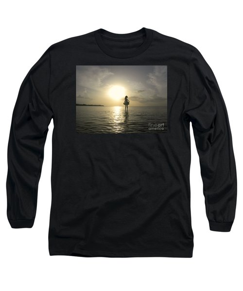 Loyda's Point Of View Long Sleeve T-Shirt by Reina Resto