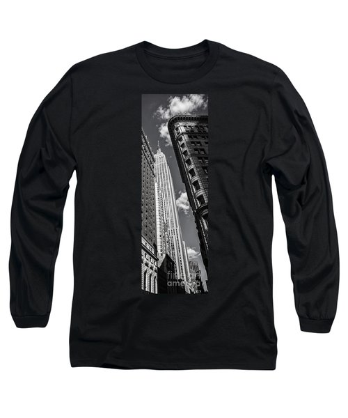 Long Sleeve T-Shirt featuring the photograph New York  by Juergen Held