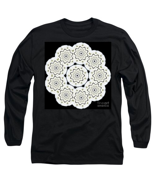 9-pointed Orchid Star Long Sleeve T-Shirt