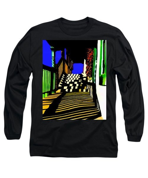 Streets Of Taos Long Sleeve T-Shirt