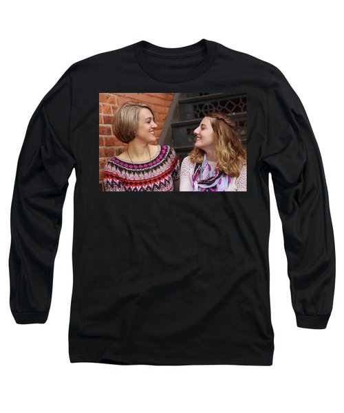 9g5a9432_e Long Sleeve T-Shirt by Sylvia Thornton