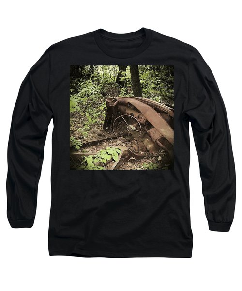 Abandoned 50s Classic.... Long Sleeve T-Shirt