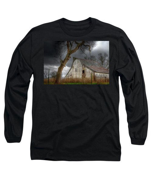A Barn In The Storm 2 Long Sleeve T-Shirt