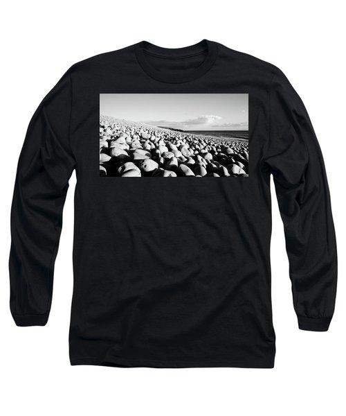 A Beach Of Stones Long Sleeve T-Shirt