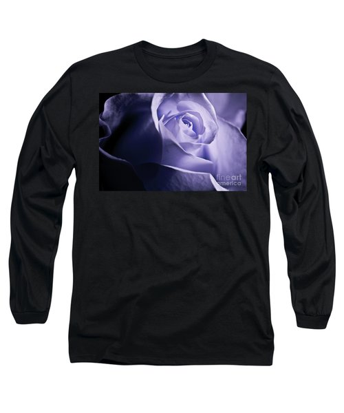 Long Sleeve T-Shirt featuring the photograph A Beautiful Purple Rose by Micah May