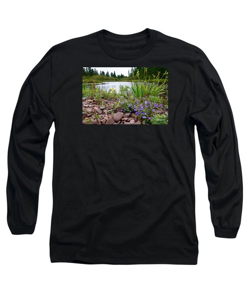 Long Sleeve T-Shirt featuring the photograph A Beautiful Rainy Day by Sandra Updyke