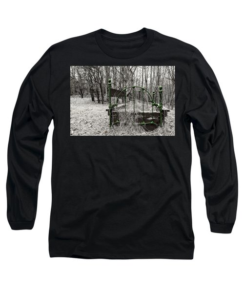 A Bed In The Forest Long Sleeve T-Shirt