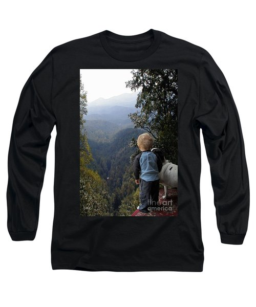 A Boy And His Dog Long Sleeve T-Shirt