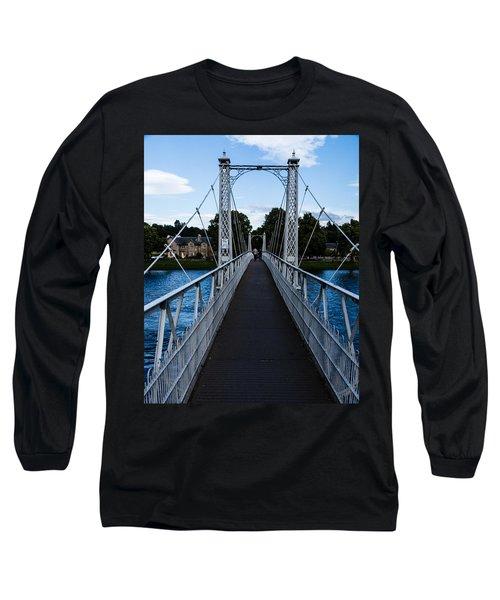 A Bridge For Walking Long Sleeve T-Shirt