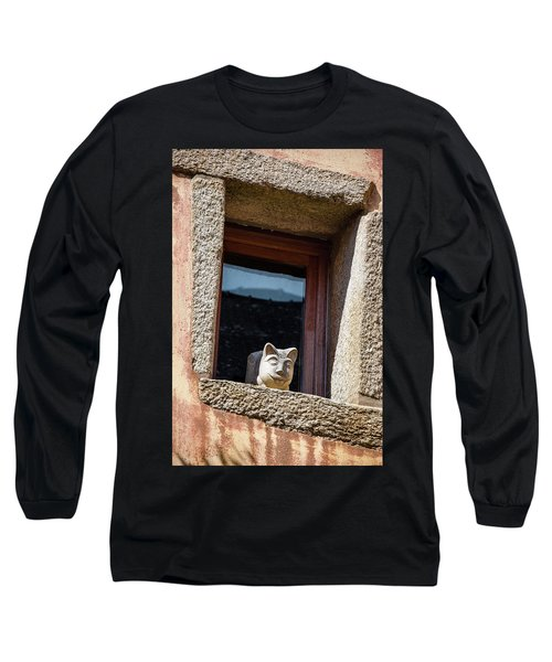 A Cat On Hot Bricks Long Sleeve T-Shirt