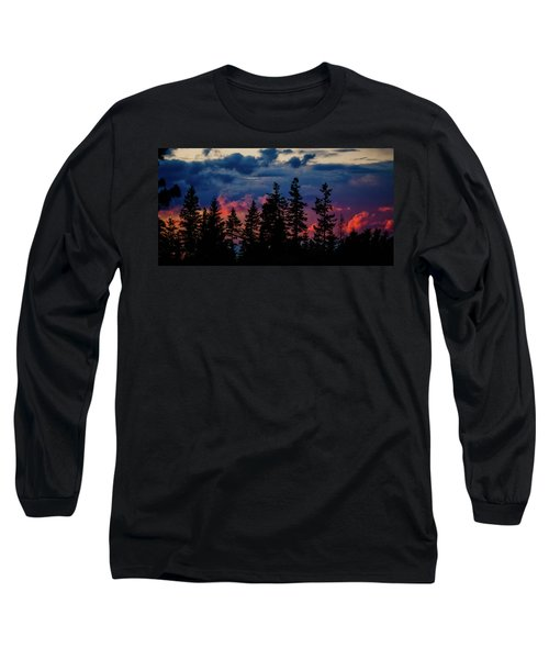 Long Sleeve T-Shirt featuring the photograph A Chance Of Thundershowers by Albert Seger