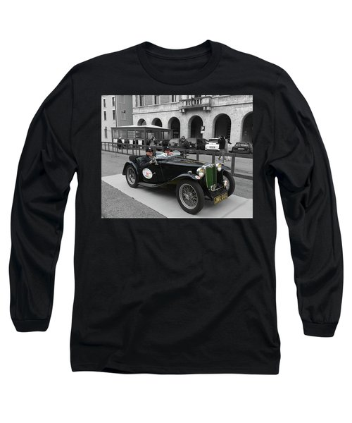 A Classic Vintage British Mg Car Long Sleeve T-Shirt
