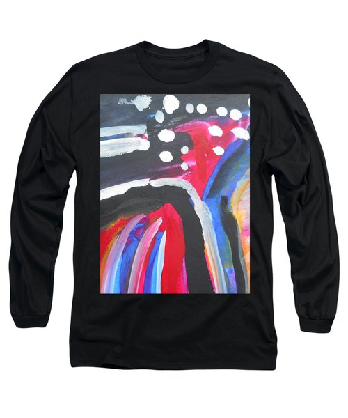 A Colorful Path Long Sleeve T-Shirt