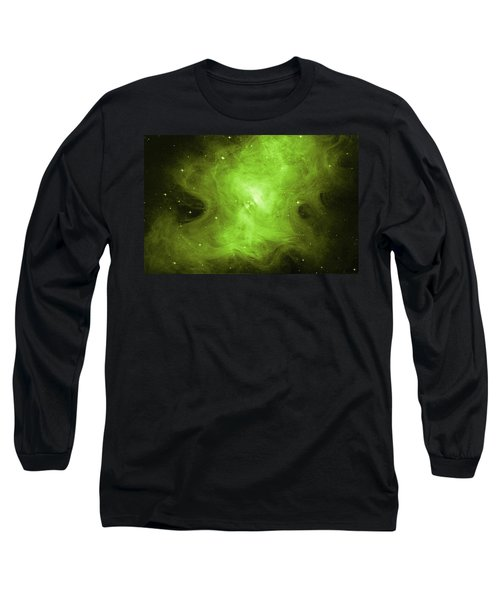 Long Sleeve T-Shirt featuring the photograph A Death Star's Ghostly Glow by Nasa