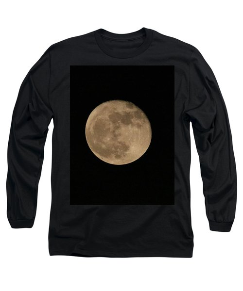 A December Super Moon Long Sleeve T-Shirt