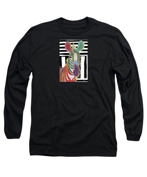 A Different Zebra Long Sleeve T-Shirt
